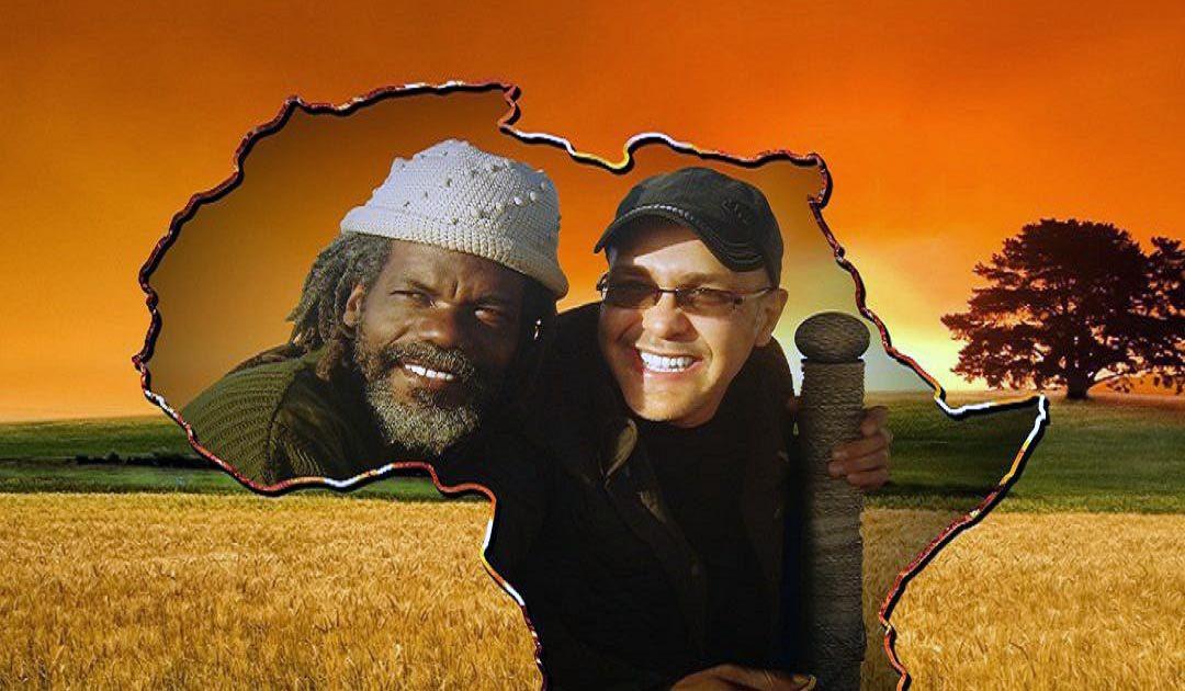 """بوشناق يغني """" أفريقيا ماما أفريكا """" رفقة نجم القارة السمراء  Trévy Felix"""