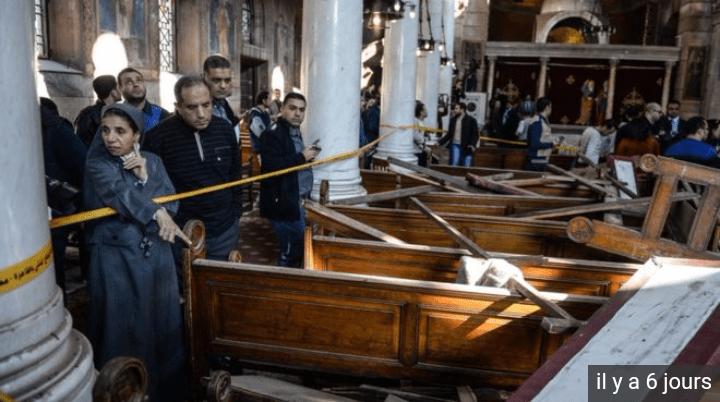 الاعلام المصري يفجر حقيقة تفجير الكنيسة
