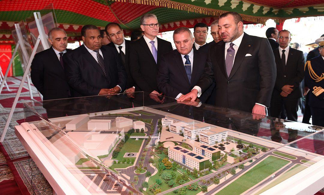 الملك يدشن جامعة محمد السادس لعلوم الصحة بالبيضاء