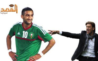 حكيم زياش: أنتظر رحيل رونار لأعود إلى المنتخب