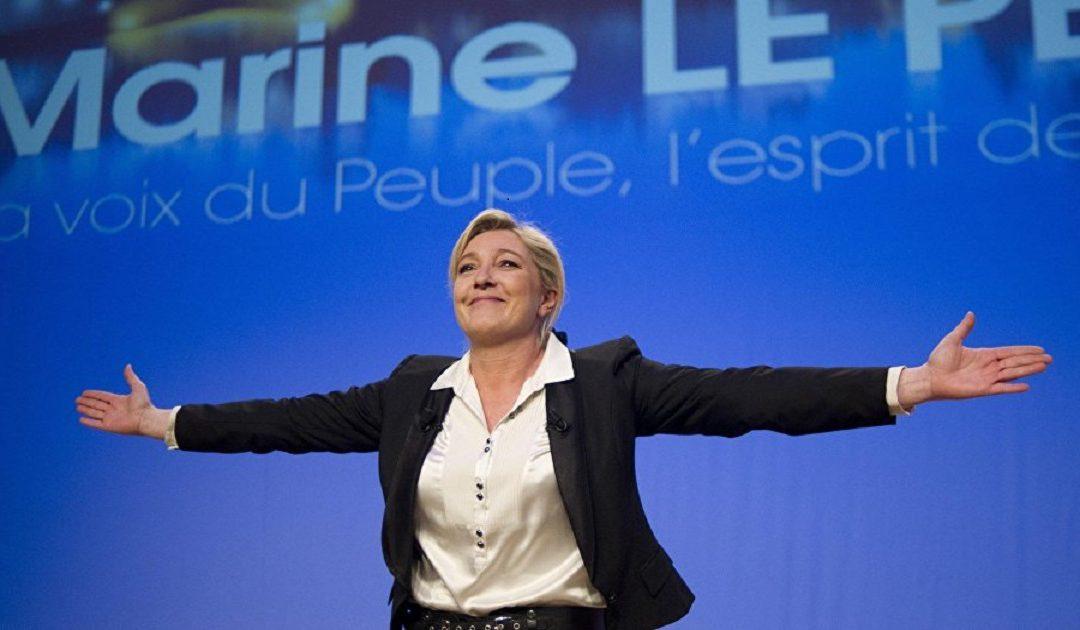 هجوم مركّز على لوبن في أول مناظرة بين المرشحين للانتخابات الرئاسية في فرنسا