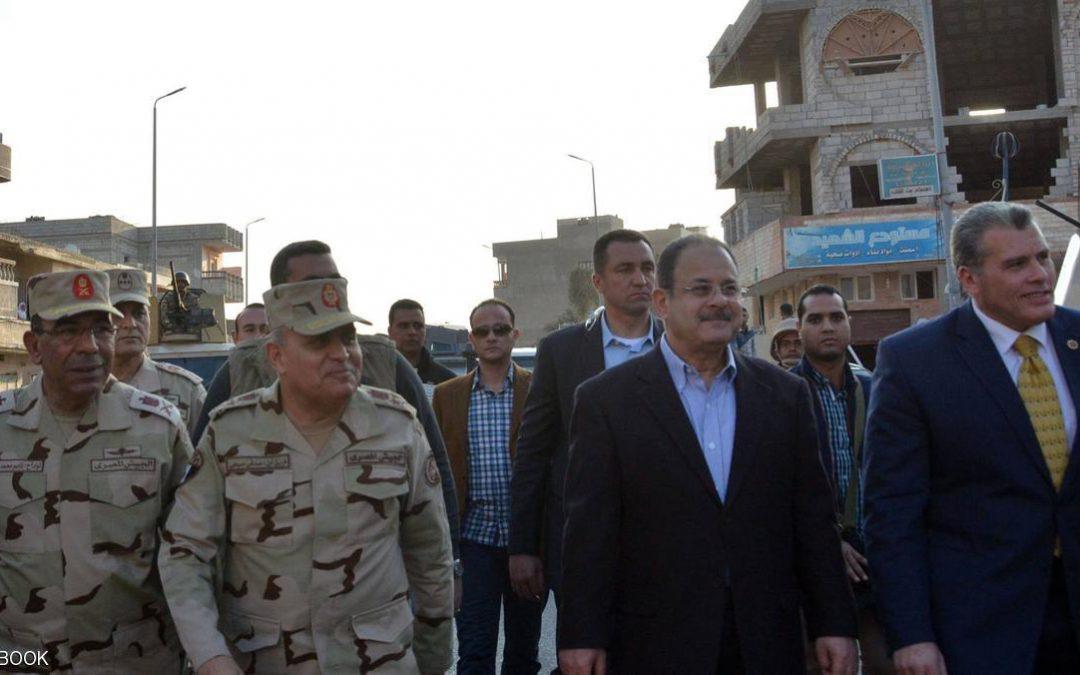 مصر.. وزيرا الدفاع والداخلية في العريش