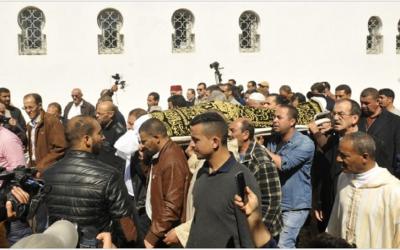 هؤلاء من حضروا مراسيم تشييع جنازة البرلماني مرداس