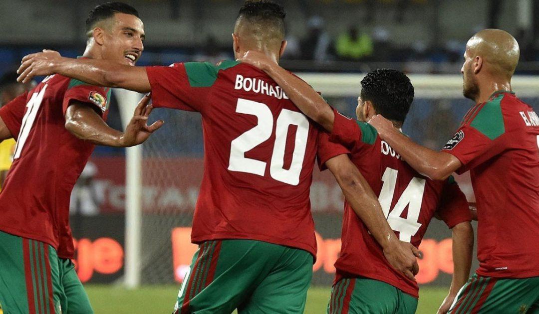 تعرف على تشكيلة المنتخب المغربي أمام الغابون