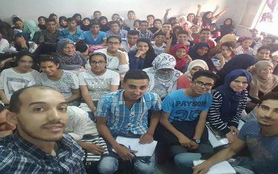 أستاذ مغربي ينجح في استقطاب  1000 تلميذ لدروس الدعم