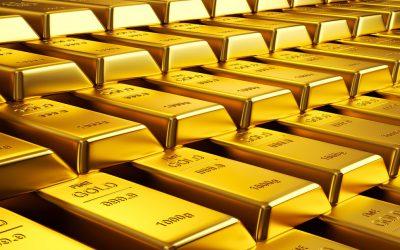 إنخفاض سعر الذهب مقابل ارتفاع الدولار في يوم العمال