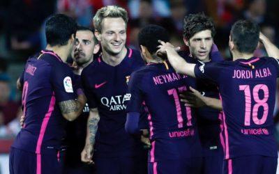 """رغم غياب """"ميسي"""" برشلونة يواصل مطاردته للريال على صادرة الدوري"""