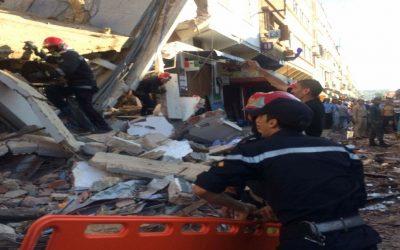 انهيار عمارتين بمدينة فاس