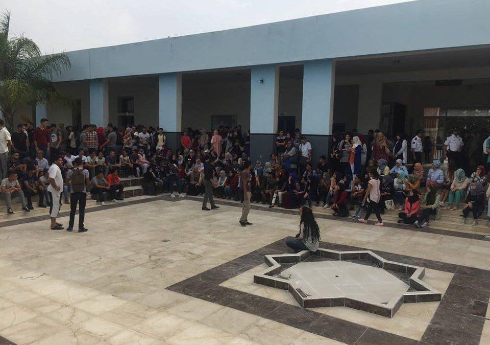 غليان داخل الحرم الجامعي بطنجة و 10 إعتقالات لحد الآن