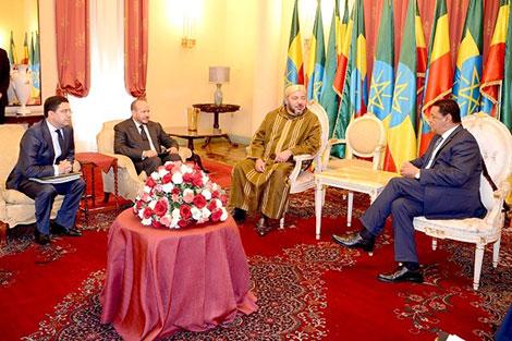 """المغرب وإثيوبيا.. إمكانيات """"ضخمة"""" للتعاون تغطي العديد من المجالات"""