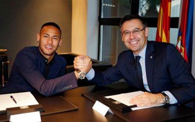 نادي برشلونة يقرر رسميا مقاضاة نجمه السابق نيمار