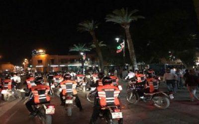 مراكش: إيقاف 1015 شخصا في حالة تلبس