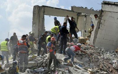 ارتفاع عدد ضحايا زلزال المكسيك