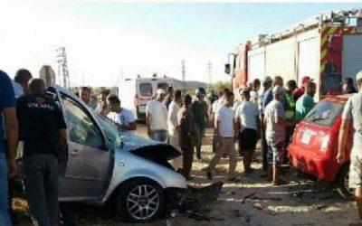 قائدة بالفقيه بن صالح تلقى مصرعها في حادثة سير