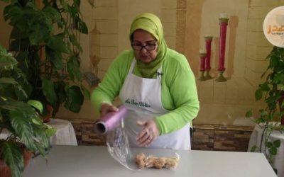 طريقة حفظ قطع الدجاج بالمجمد مع ثورية الدكاكي