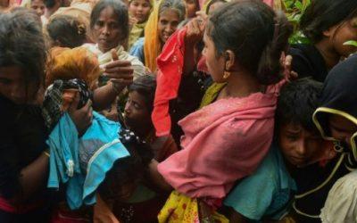 الروهينغا المصابون يتدفقون الى مستشفيات بنغلادش