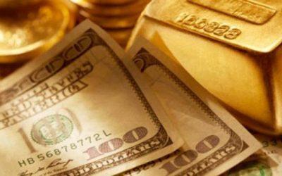 الذهب يعود للإنخفاض مقابل ارتفاع الدولار