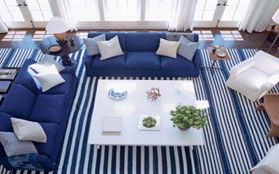 نصائح لتنسيق تدرجات الأزرق في ديكور منازلك