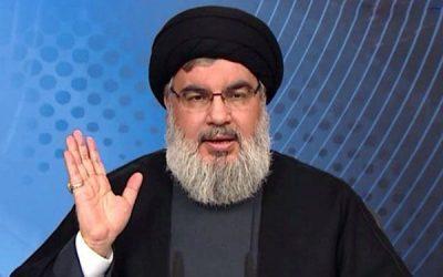حسن نصر الله :التحركات الأمريكية تدعم تنظيم الدولة  في سوريا