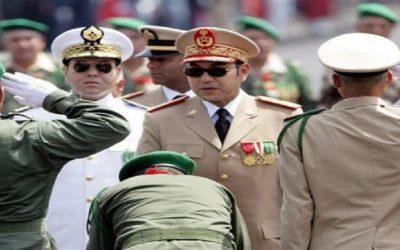 الملك يقيل 43 من كبار ضباط الجيش بينهم 8 جنرالات