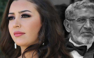 وفاة والد الفنانة المغربية جنات