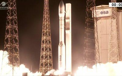 فيديو انطلاق القمر الصناعي محمد السادس