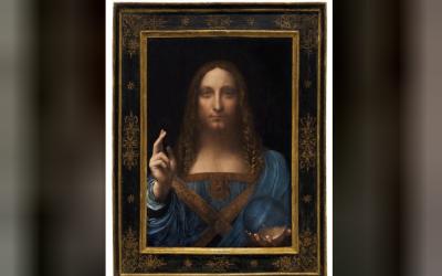 """بيع لوحة """"المسيح"""" لدا فينشي بنصف مليار دولار"""