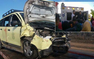 اصابة تسعة أشخاص في حادثة سير بإقليم السطات