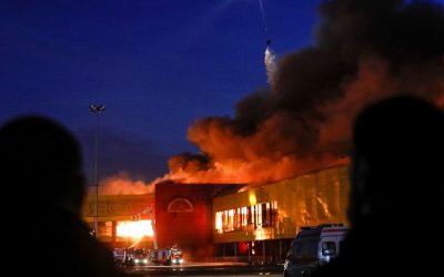 حريق مهول يندلع بمحل تجاري في مراكش