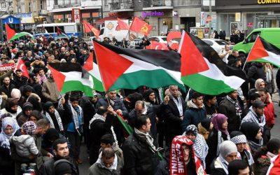 برلين.. ألف متظاهر في مسيرة ضد الاعتراف بالقدس عاصمة لإسرائيل