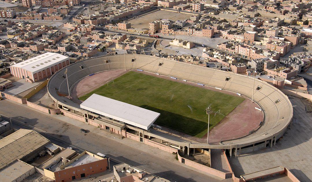مركب الشيخ الأغضف يستقبل مباريات المنتخبات الوطنية