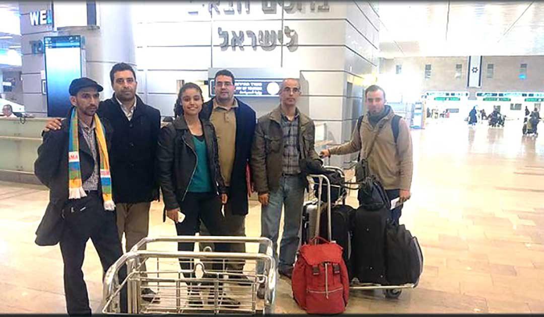 دعوى قضائية ضد الوفد المغربي الذي زار اسرائيل…