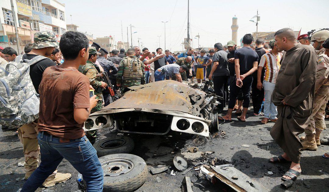 قتلى وجرحي في تفجير بسوق شعبي ببغداد