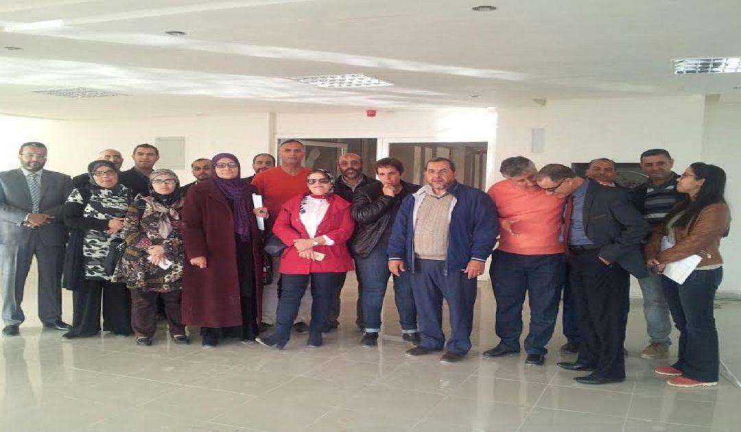 استئناف الأشغال بالمكتب الصحي لجماعة أكادير