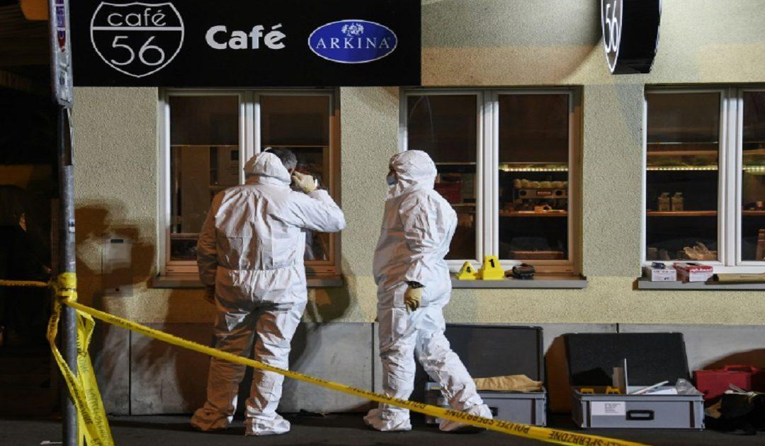 قتيلان وجرحى في اطلاق نار بمقهى في سويسرا