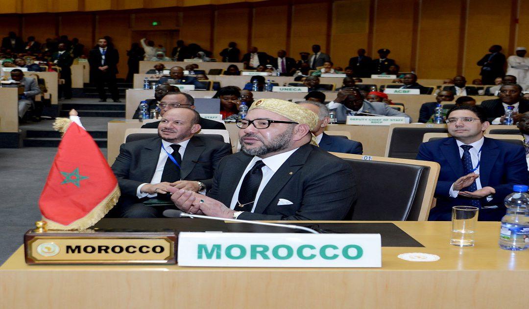 رسميا رفع العلم المغربي بمقر الاتحاد الإفريقي