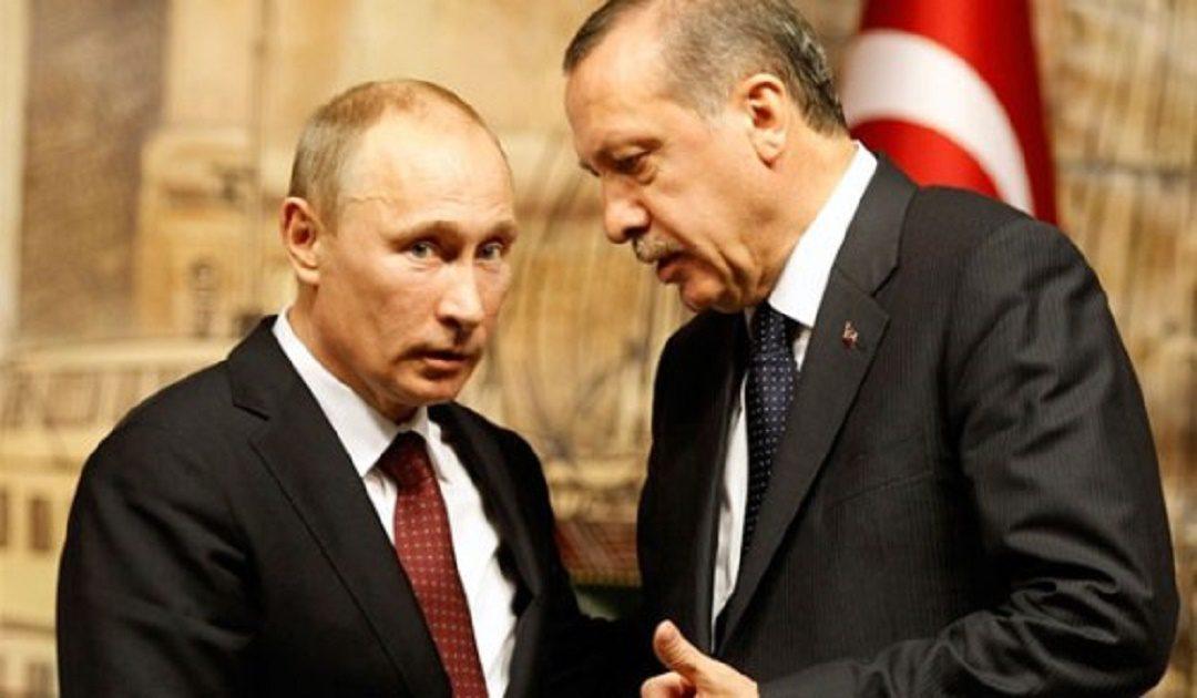 إردوغان يلتقي بوتين مطلع شهر ماي