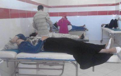 خريبكة : هيستيريا جماعية تصيب 35 تلميذة