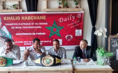 الإعلام المغربي يغيب خالد حبشان بطل العالم في الملاكمة الاحترافية