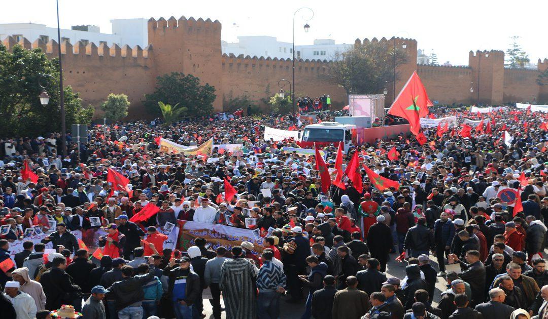 الرابطة الصحراوية للدفاع عن الوحدة الترابية تعلن عن تنظيم مسيرة شعبية نحو الكركرات