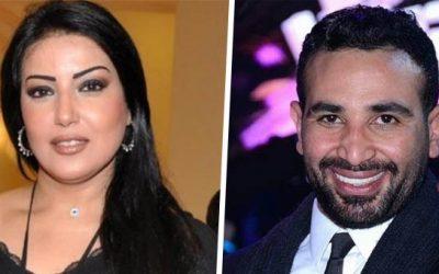 الفنانين أحمد سعد و سمية خشاب يتحدثان عن علاقتهما