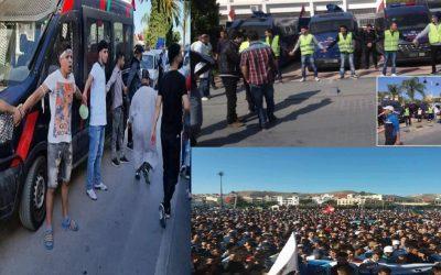 مسيرات الريف تبدد كل المخاوف وتكشف عن الوجه الحضاري للإحتجاج
