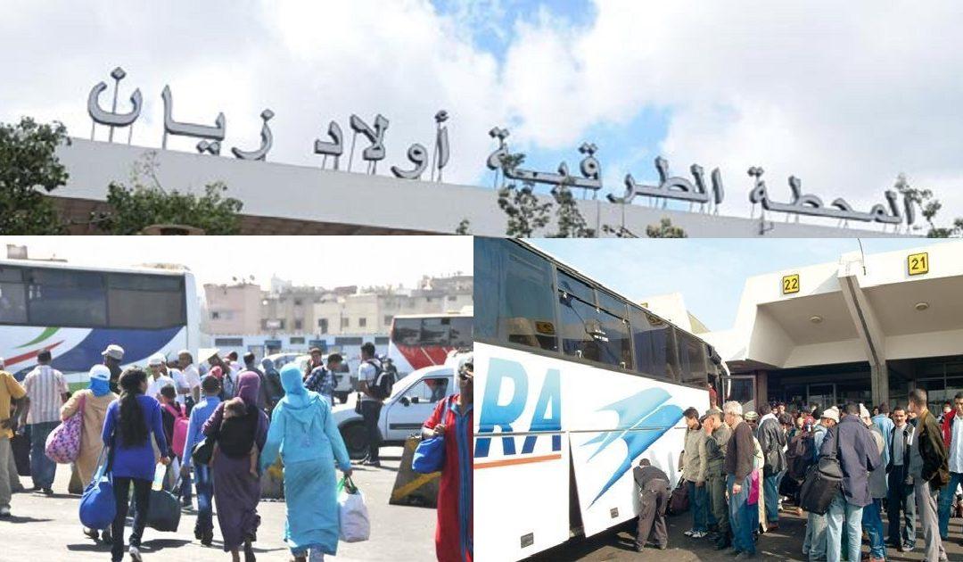 """ربورتاج: المحطات الطرقية أيام قليلة من عيد الفطر تحت قبضة """"الكوارتية"""""""