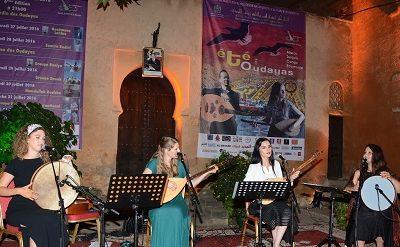 """المهرجان الدولي للفنون و الثقافة """"صيف الوداية"""" يعرف تنوعا فنيا متميزا"""