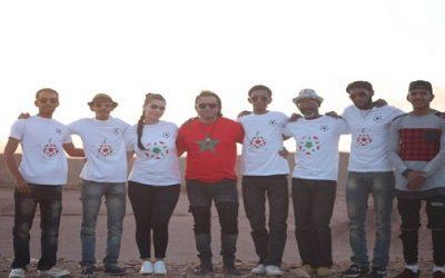 """فنانون مغاربة يطلقون أغنية """" الصحراء مغربية"""" من باناما"""