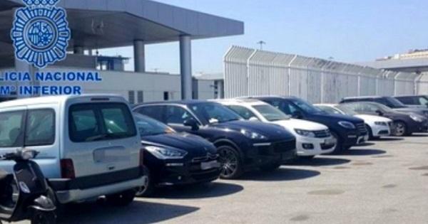 الشرطة الإسبانية تحبط عملية تهريب سيارات مسروقة متجهة نحو ميناء طنجة