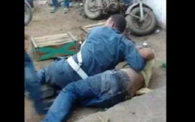الإعتداء على دركي بأكادير