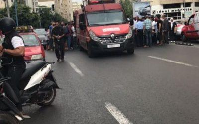 خطير.. إصطدام سيارة خفيفة بشاحنة لنقل الأزبال يؤدي لمصرع ضابط و نقل آخر للمستعجلات بمراكش