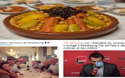 طبق كسكس مغربي يتسبب في أزمة سياسية بفرنسا