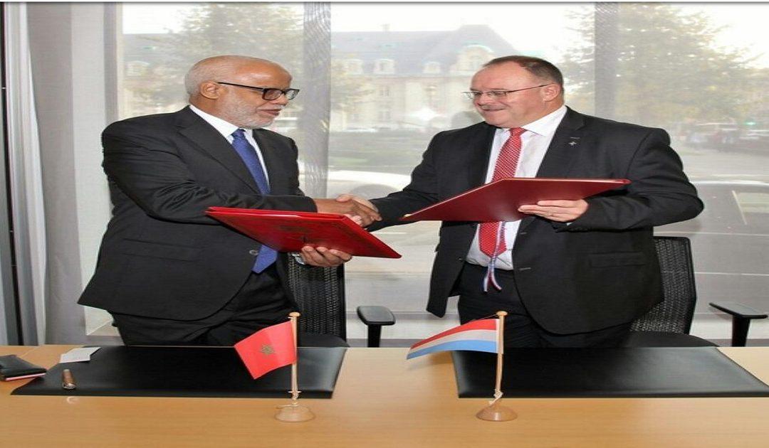 يتيم يوقع على تنزيل اتفاقية الضمان الاجتماعي بين المغرب واللوكسمبورغ